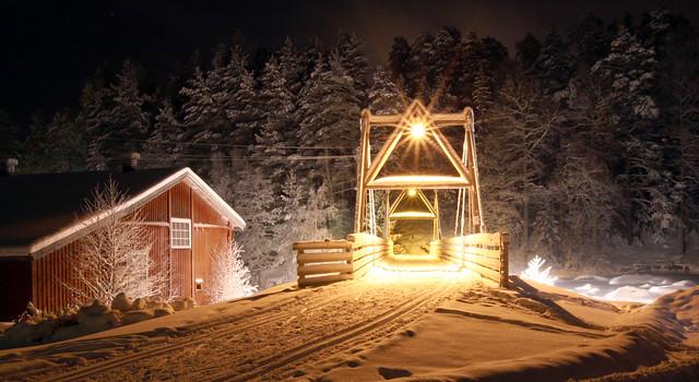 El invierno en Finlandia