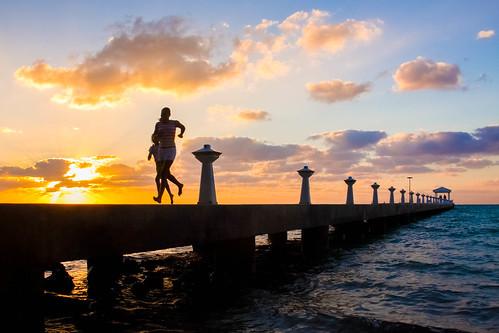 sunset canon point running rum cayman caymanislands grandcayman rumpoint 50d