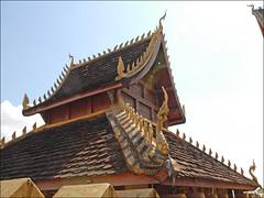 Porte axiale du That Luang (Vientiane)