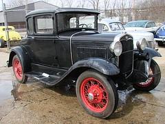 automobile, ford model a, ford model a, vehicle, antique car, sedan, ford model b, model 18, & model 40, classic car, vintage car, land vehicle, luxury vehicle, motor vehicle,