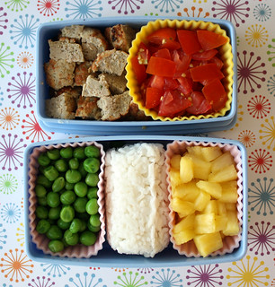 Toddler Bento #5: March 23, 2010