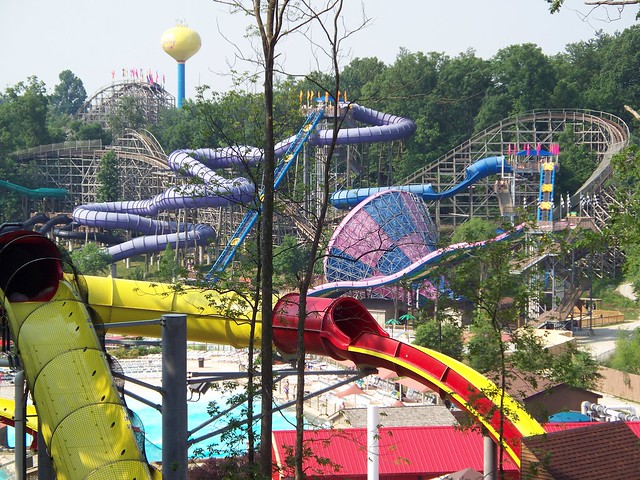 Holiday World - Splashin' Safari from Wildebeest Crow's Nest