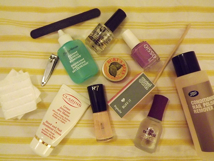 at home manicure products