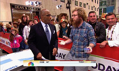 Thomas Shahan (and a Salticid) on NBC's The Today Show!