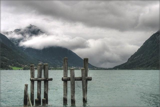 Mountain under Control of Clouds - Achensee, Austria