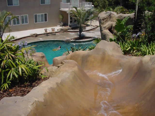 Custom Swimming Pool Waterslide Flickr Photo Sharing