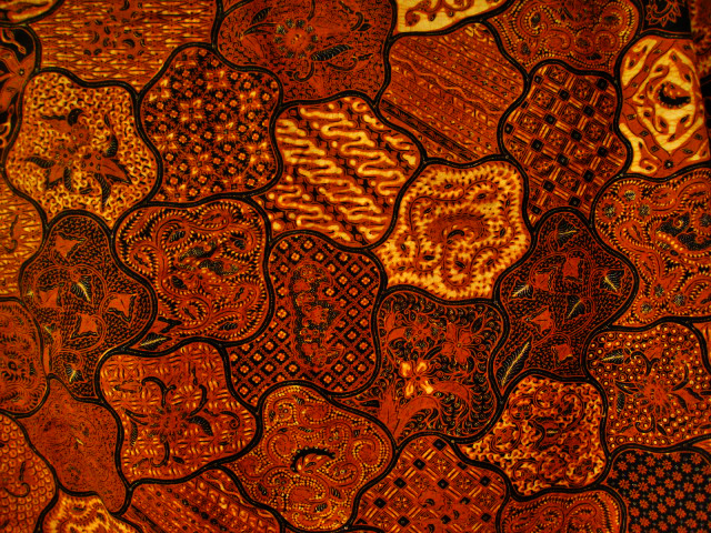 Fabric patterns of art, culture, mystics, and philosophy : Batik, from ...