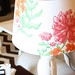 Wallpapered Lampshade
