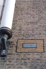 Photo of Charles Lamb grey plaque