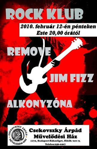 Csekovszky Művelődési Ház: Rock Klub (február)