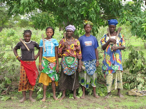 Female Farmers in Mali 2009