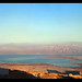 A view to the Mezada fortress and the Dead Sea, Lowest place on earth.