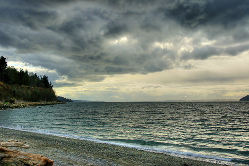 sky beach clouds washington pacificnorthwest pugetsound pnw hdr mukilteo