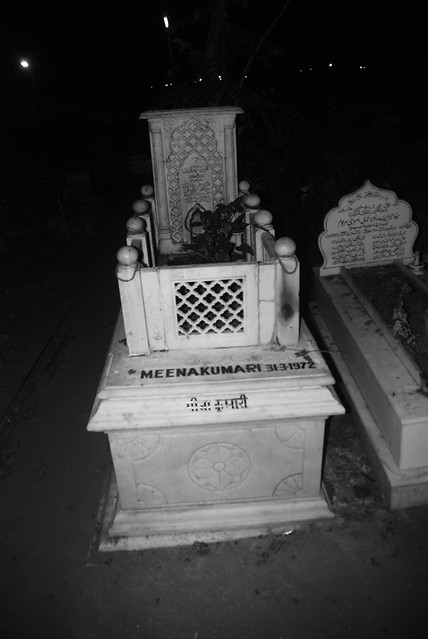 The Grave of Meena Kumari