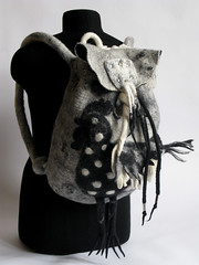 "backpack""BLACK CHICKEN"""