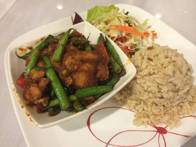 Spicy catfish lunch special - Banana House
