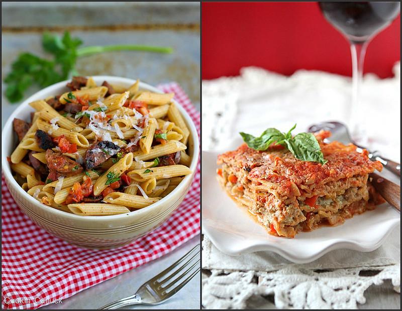 Whole Wheat Pasta Recipes | cookincanuck.com #recipe #pasta