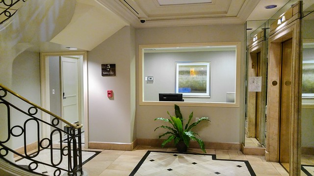 Business Center at the Hilton Checkers