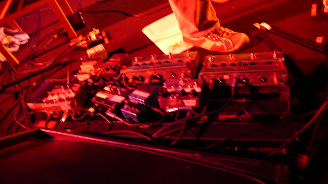 Photo:Andrew Bird's pedals By dumbledad