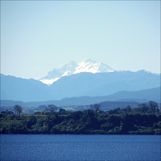 Puerto Varas...lake and the Cordillera