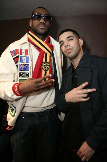Drake .&&. LeBron James