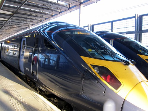 High Speed Trains At St Pancras