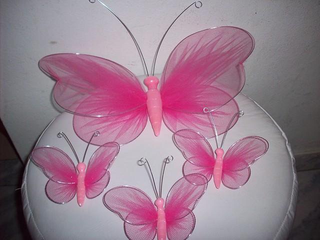 Mariposas De Tul