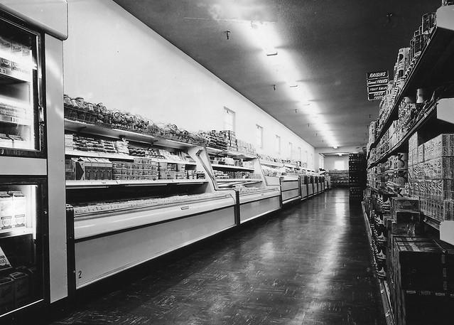 Fort Riley Ks Commissary Interior 24 April 1958 Flickr