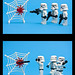Stormtroopers VS spider by Sad Old Biker