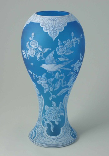 Cameo vase, Stevens & Williams, Brierley Hill, c.1886, BH2752