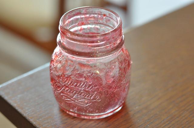 empty jam jar