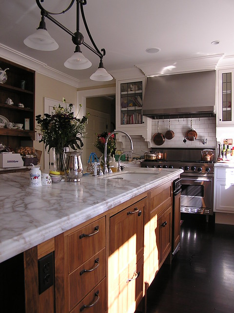 Black walnut kitchen cabinets  Flickr  Photo Sharing!