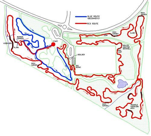 Croft Trail Map June 2009