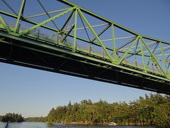 girder bridge, tied-arch bridge, river, truss bridge, cantilever bridge, waterway, bridge,