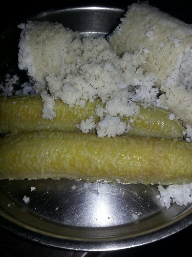 Atta Puttu with Pazham