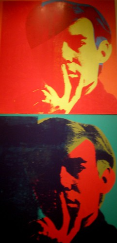 Andy Warhol 1967 'Self-Portrait', Institute of Arts, Detroit, Michigan by hanneorla