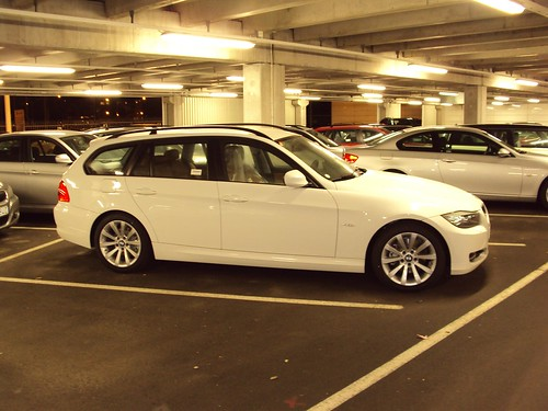 car au upcoming bmw 320d touring e91 gets the. Black Bedroom Furniture Sets. Home Design Ideas