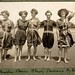Women in bathing suits on Collaroy Beach, 1908,  photographed by Colin Caird by State Library of New South Wales collection