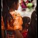 Kids watching baptising, Lake Atitlan (2)