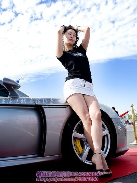 美女车模模特美腿韩国欧美22