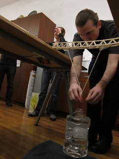 Make:NYC 17 Balsa Bridges