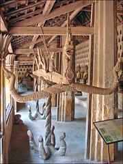Gouttière rituelle (cloître du Vat Sisaket, Vientiane)