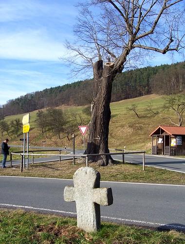 Steinkreuz Erdmannsdorf (Rückseite)
