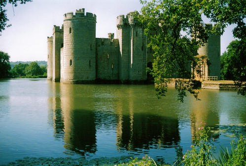 Bodiam Castle, East Sussex by Stocker Images