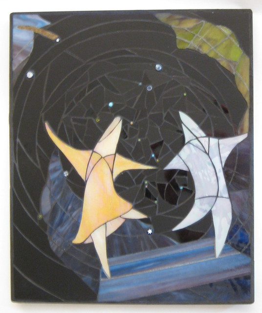 Why Stars Twinkle - Stained Glass Mosaic Wall Art