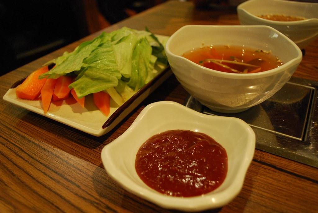 Cold Soup, Gochujang, Vegetables - Flying Chicken