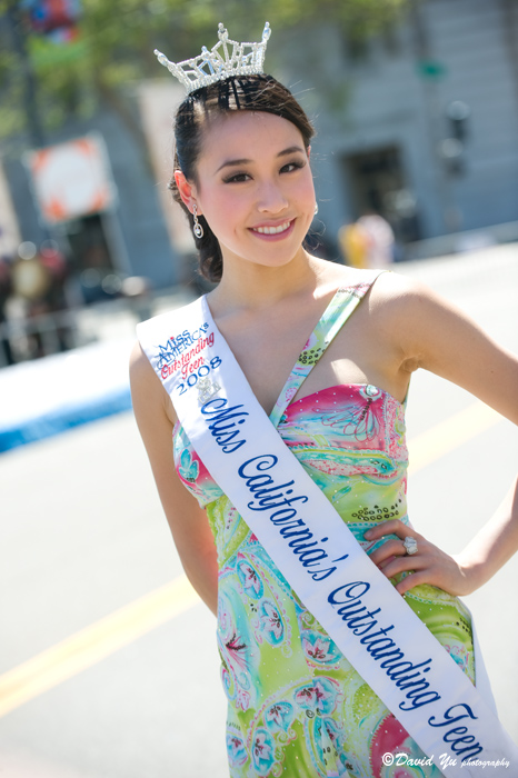 Miss California Outstanding Teen Crystal Lee