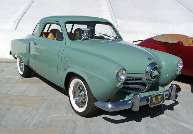 1951 studebaker commander starlight coupe front 3q - Studebaker champion starlight coupe ...