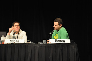 SXSW:  Avner Ronan and Mark Cuban Debate; by Steven Rosenbaum, on Flickr
