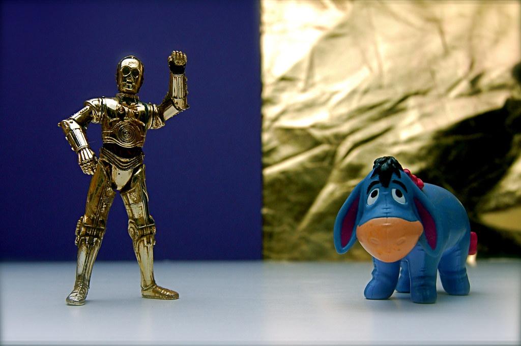 C-3PO vs. Eeyore (80/365)